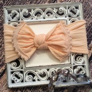 Other - Baby Girls Peach Knot Bow Headband
